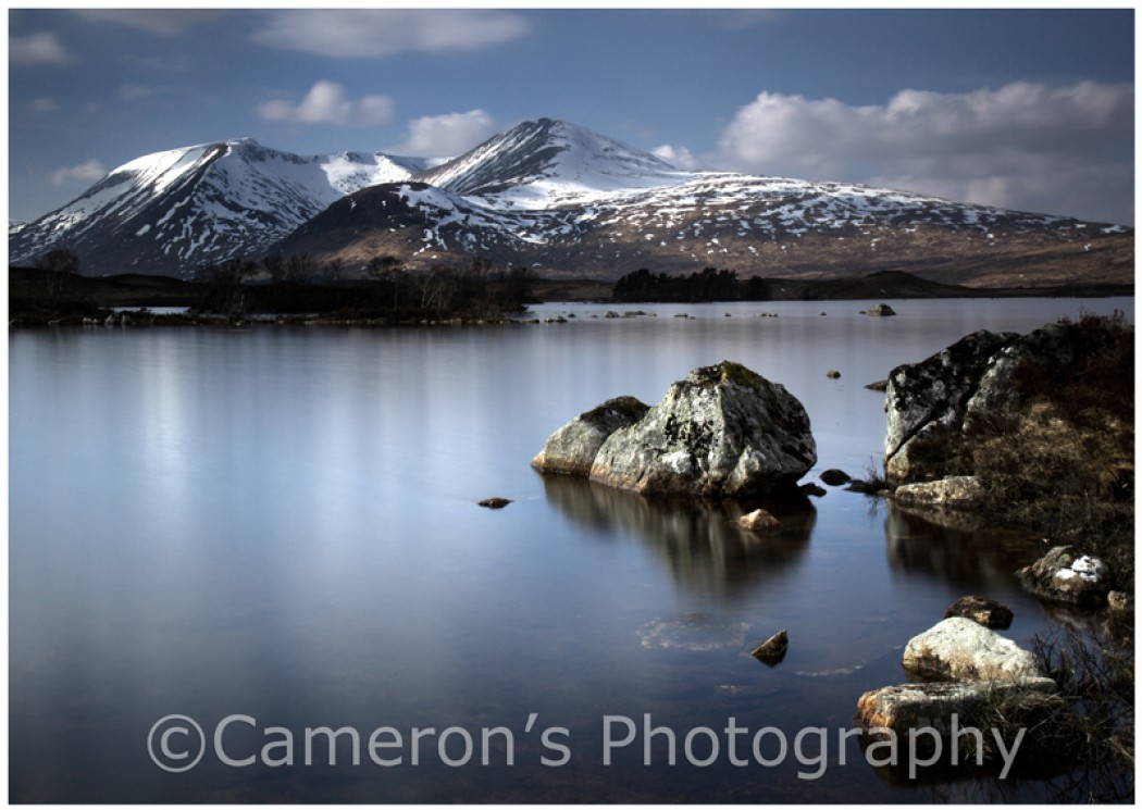 0547 Rannoch Winter Scene