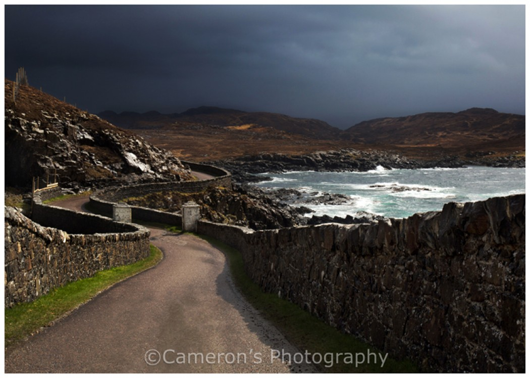1411 Road From Ardnamurchan Point