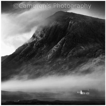4354 Dawn Mist Clearing Buachaille Etive Mor Glen Coe