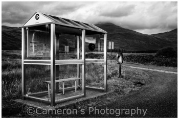4415 Rural Bus Stop