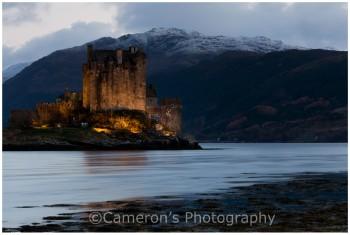 4595 Eilean Donan Castle Dusk Reflections