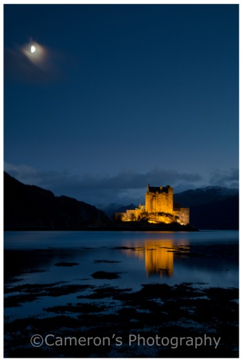 4607 Eilean Donan Castle Dusk