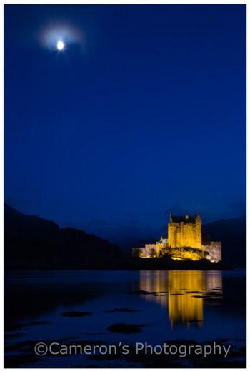 4615 Eilean Donan Castle Blue