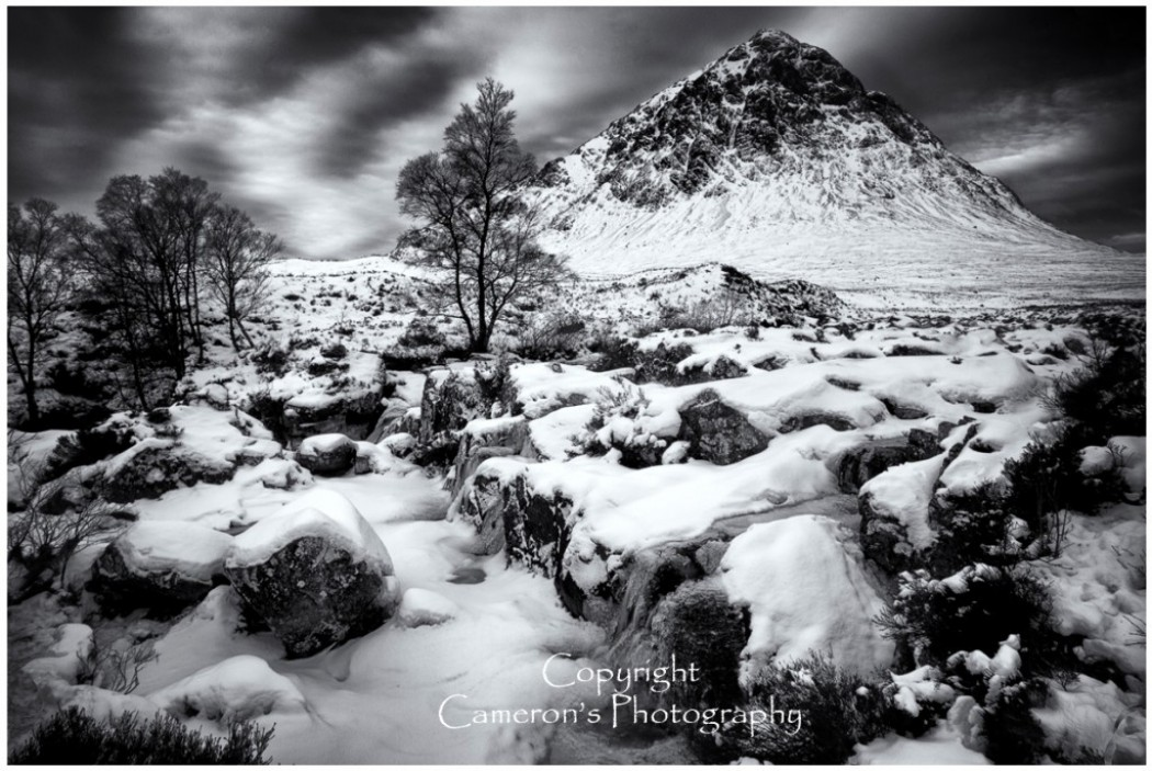 9952 Winter Buachaille Etive Mor Glen Coe