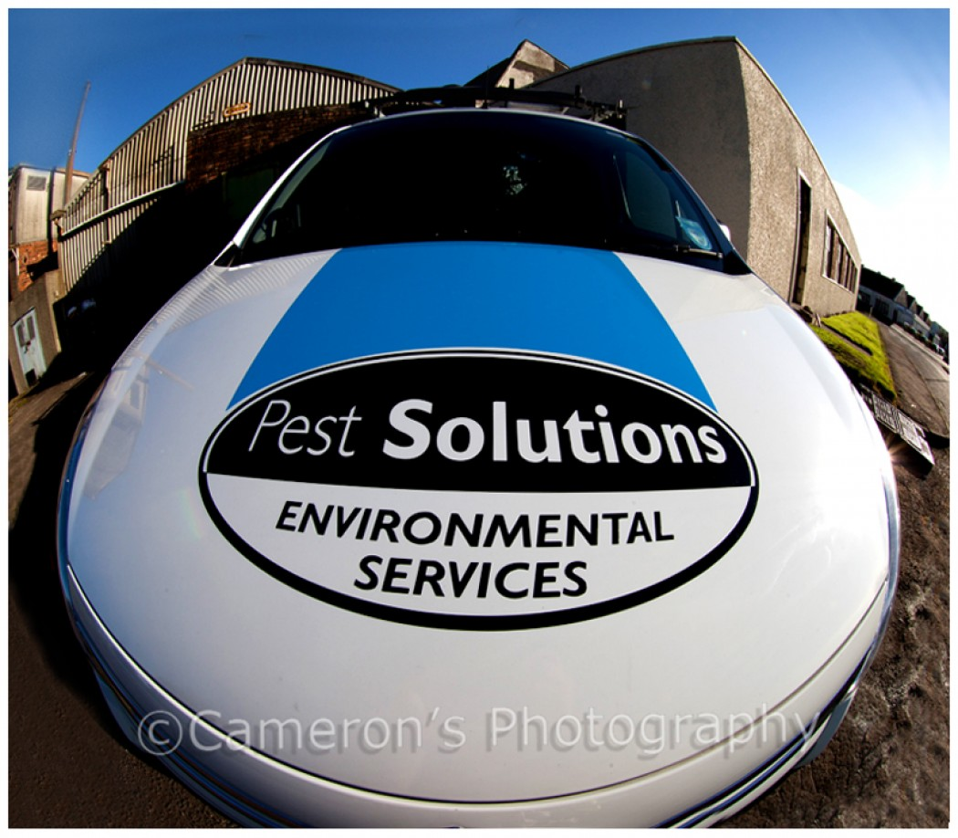 Pest Solutions Ltd Location Shoot