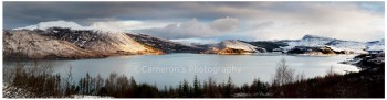 Snow Fall Glenelg Bay Panorama1