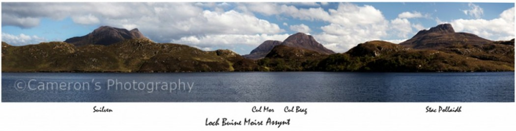 Suilven Cul Mor Cul Beag Stac Polliadh_Panorama With Names1
