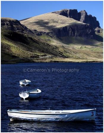 The Storr Loch Leathan Skye